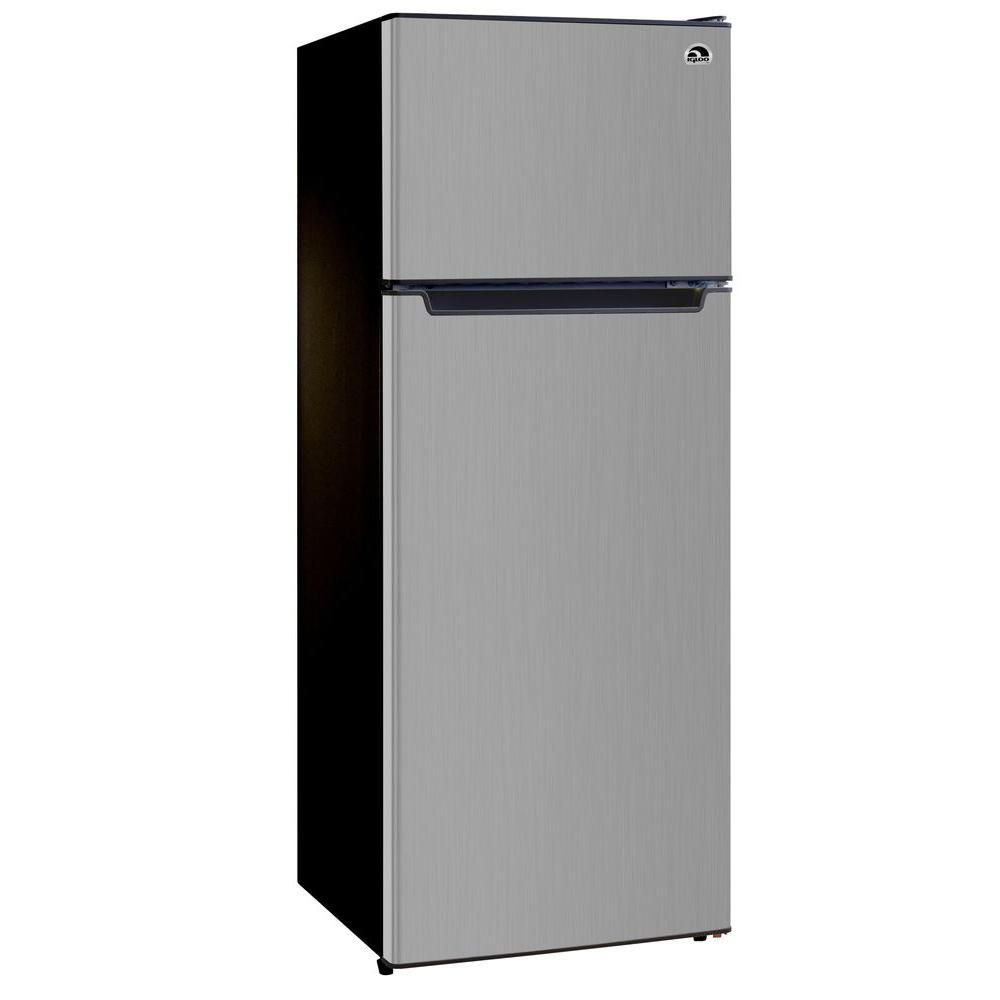 refrigerator 7 5 cu ft. igloo 7.5 cu. ft. mini refrigerator in stainless 7 5 cu ft r