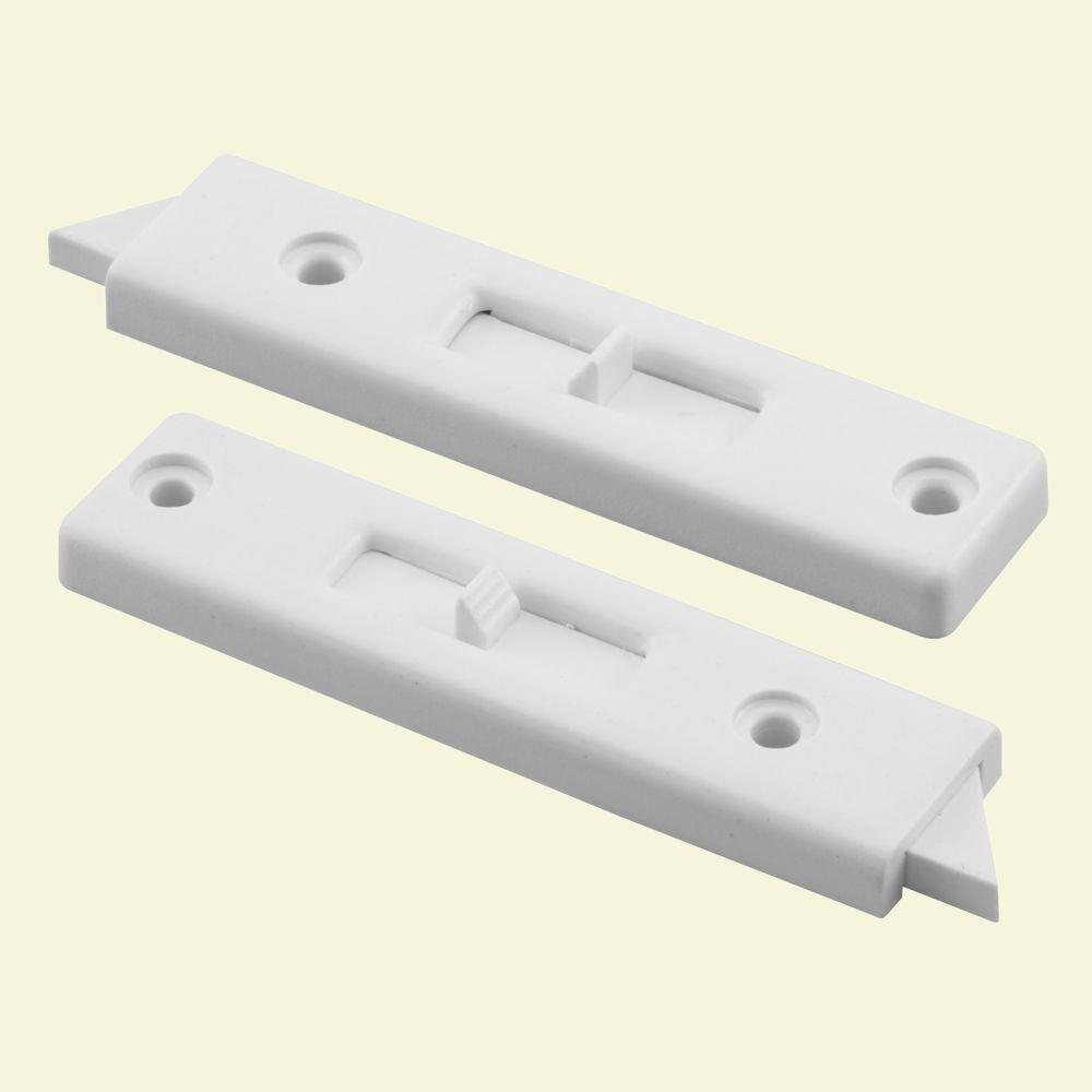 Tilt Window Locks : Prime line in white vinyl window tilt latch f