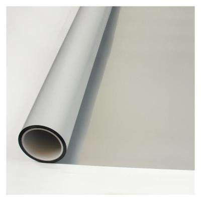 60 in. x 100 ft. MTSIL Silver Matte Frosted Privacy Window Film