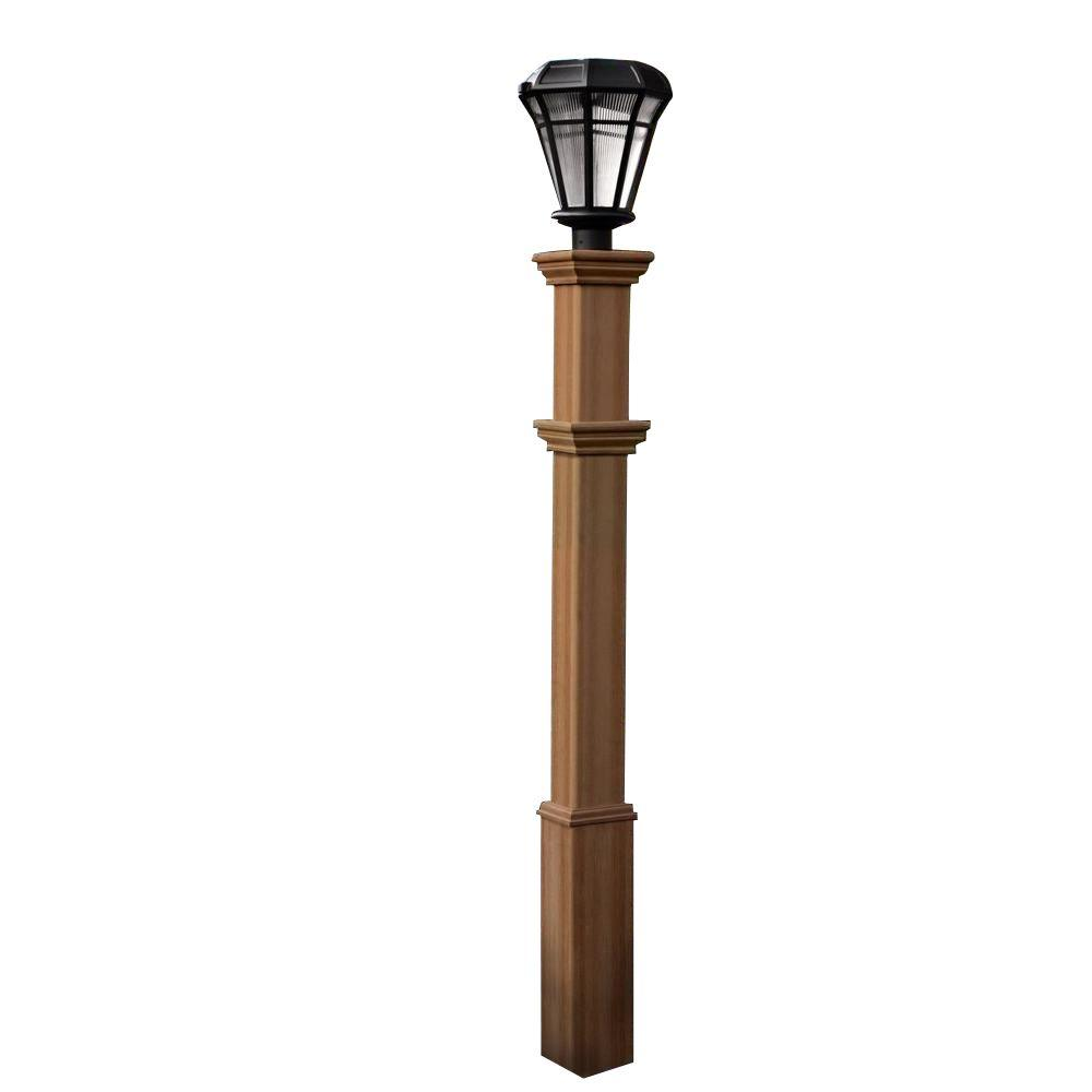 Superb New England Arbors Burton 72 In Composite Lamp Post Va94431 The Wiring 101 Relewellnesstrialsorg