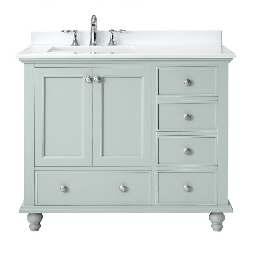Home Decorators Collection Orillia 42 in. W x 22 in. D Vanity in