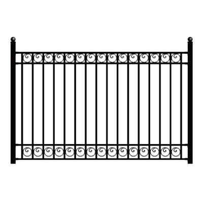 Metal Fence Panels Metal Fencing The Home Depot