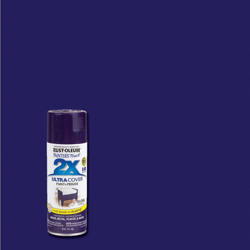 Gloss Purple General Purpose Spray Paint
