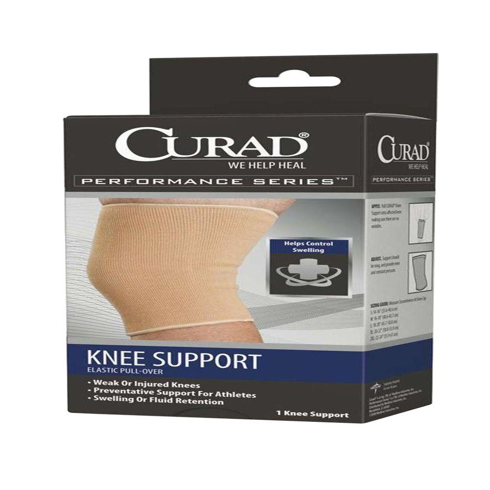 Curad Extra-Large Knee Support with Cartilage Pad