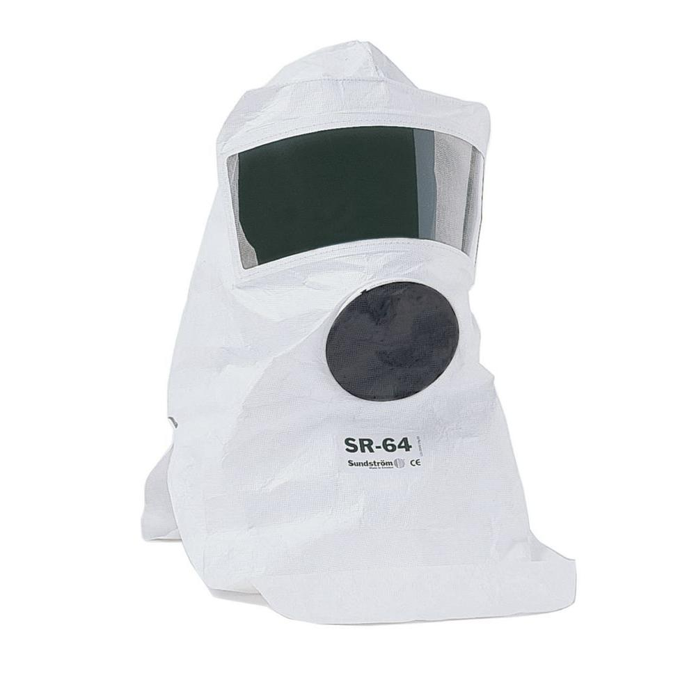 Sundstrom Safety Tyvek Protective Hood with Visor, respirator not included