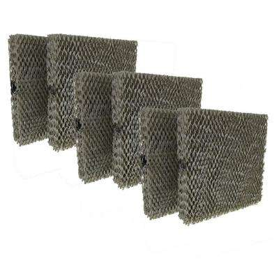 Replacement for Aprilaire 110, 220, 500, 550, 558 Water Panel 10 Humidifier Filter (6-Pack)
