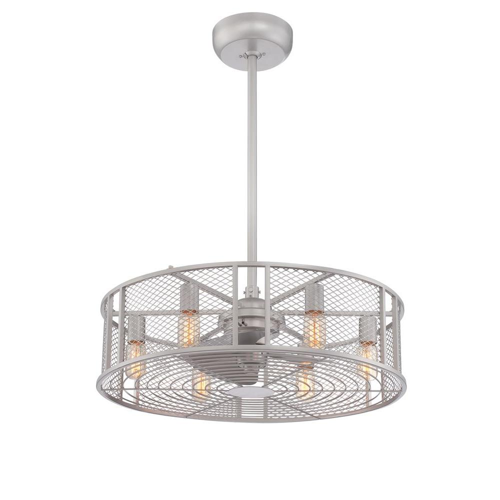 World Imports Boyd Collection 26 In LED Indoor Platinum