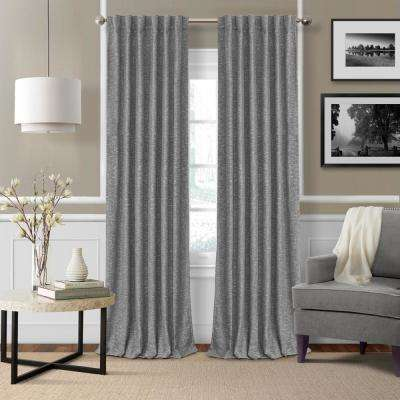 Colton Woven Room Darkening Window Curtain