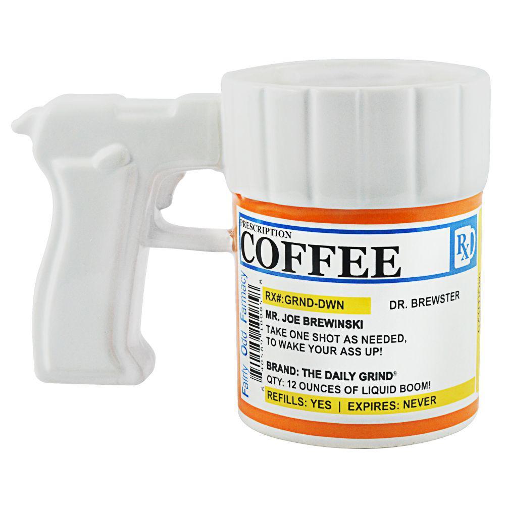 12 oz. Prescription Gun Coffee Mug
