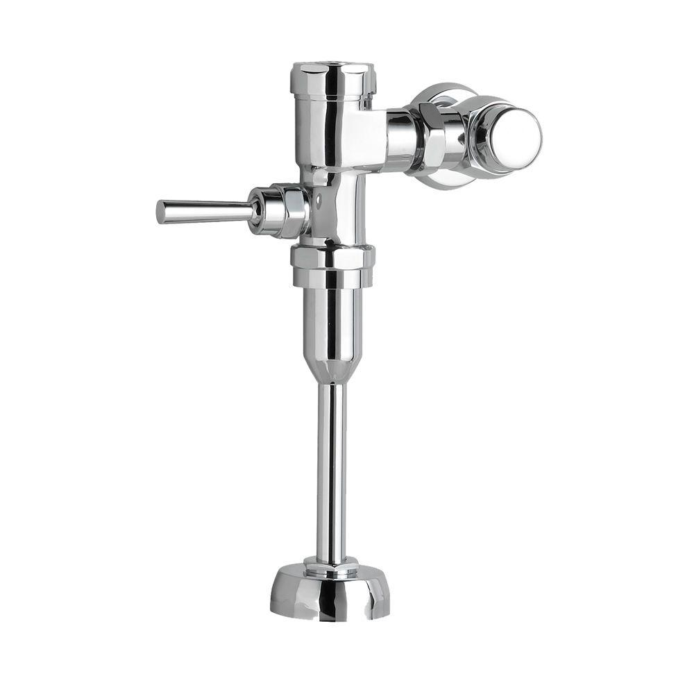 Manual 1.6 GPF Exposed Toilet Flush Valve in Polished Chrome for