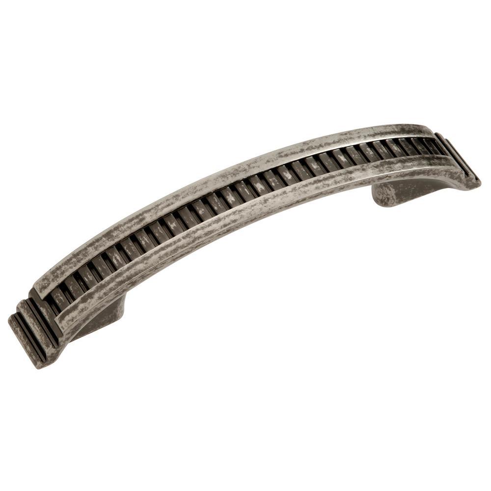 3 in. (96 mm) Sydney Black Nickel Vibed Cabinet Pull