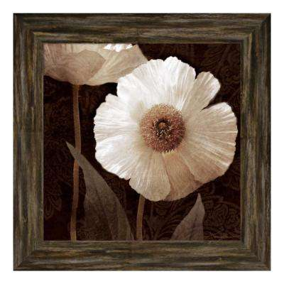 """Paisley Poppy II"" by Keith Mallett Framed Canvas Wall Art"