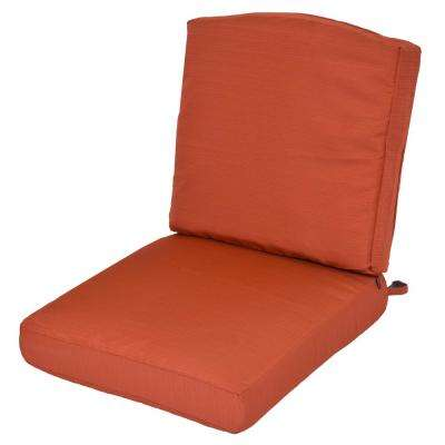 Oak Cliff Quarry Red Replacement 2 Piece Outdoor Glider Cushion