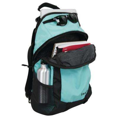 20 in. Teal Polyester Backpack