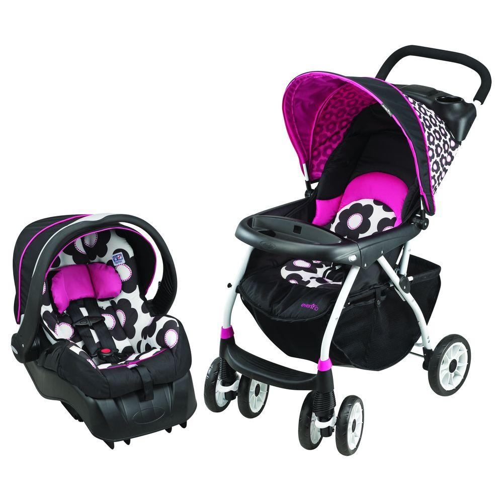 Evenflo Journey 300 with Embrace 35 Marianna Travel System-DISCONTINUED