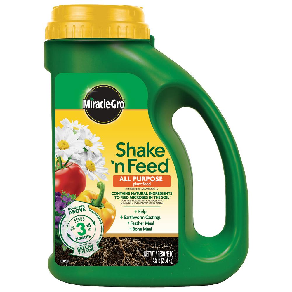 Miracle-Gro Shake 'n Feed 4.5 lbs. All Purpose Plant Food