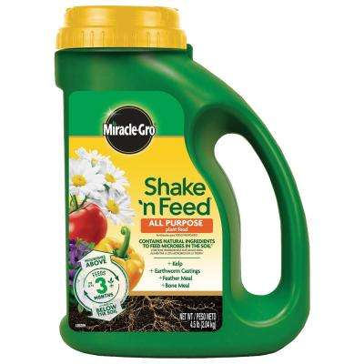 4.5 lbs. Shake n Feed All Purpose Plant Food