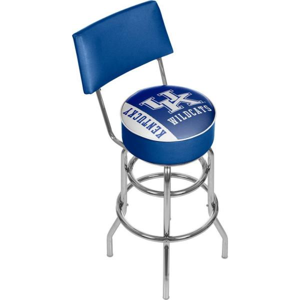 Trademark Global University of Kentucky Text 31 in. Chrome Padded Bar