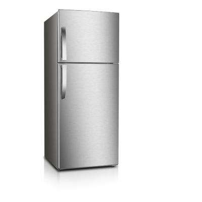 10 cu. ft. Frost Free Top Freezer Refrigerator in Stainless Steel