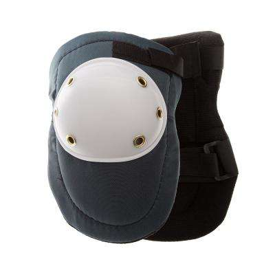 Blue/White Hard Cap Knee Pads