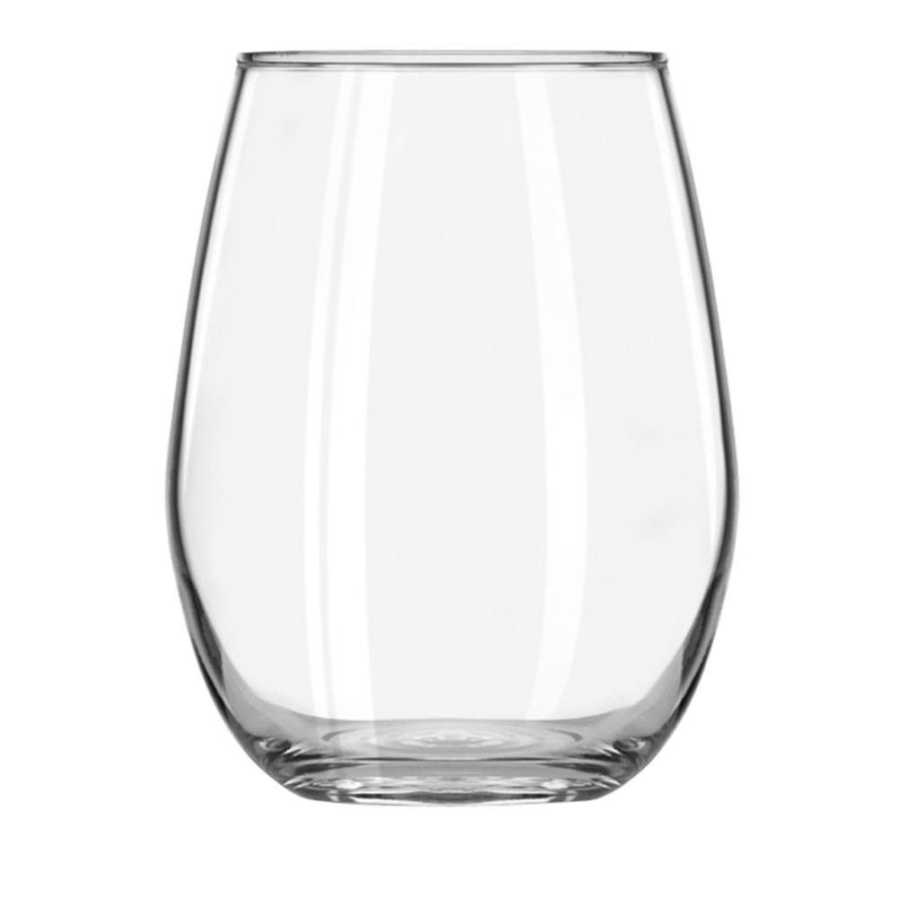 Libbey 11.75 oz. Clear Vina Stemless Wine Taster Glass (Set of 12)