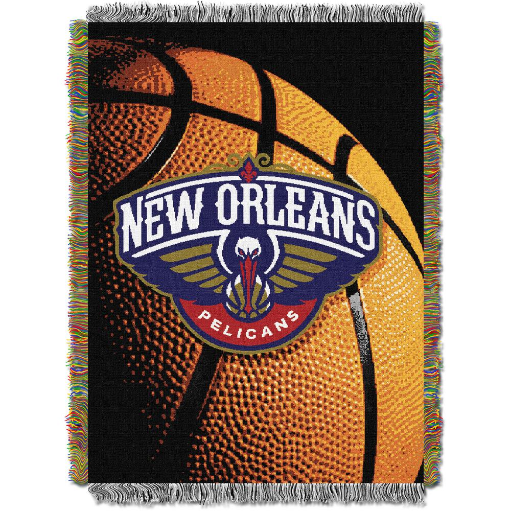Pelicans Photo Real Multi Color Polyester Tapestry Throw