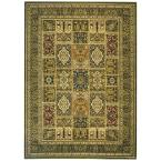 Lyndhurst Multi/Green 9 ft. x 12 ft. Area Rug