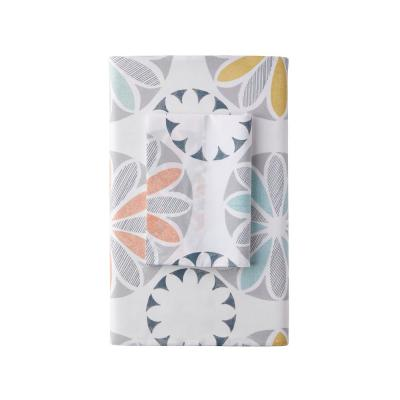 Whirligig LoftHome 250-Thread Count Cotton Percale Flat Sheet