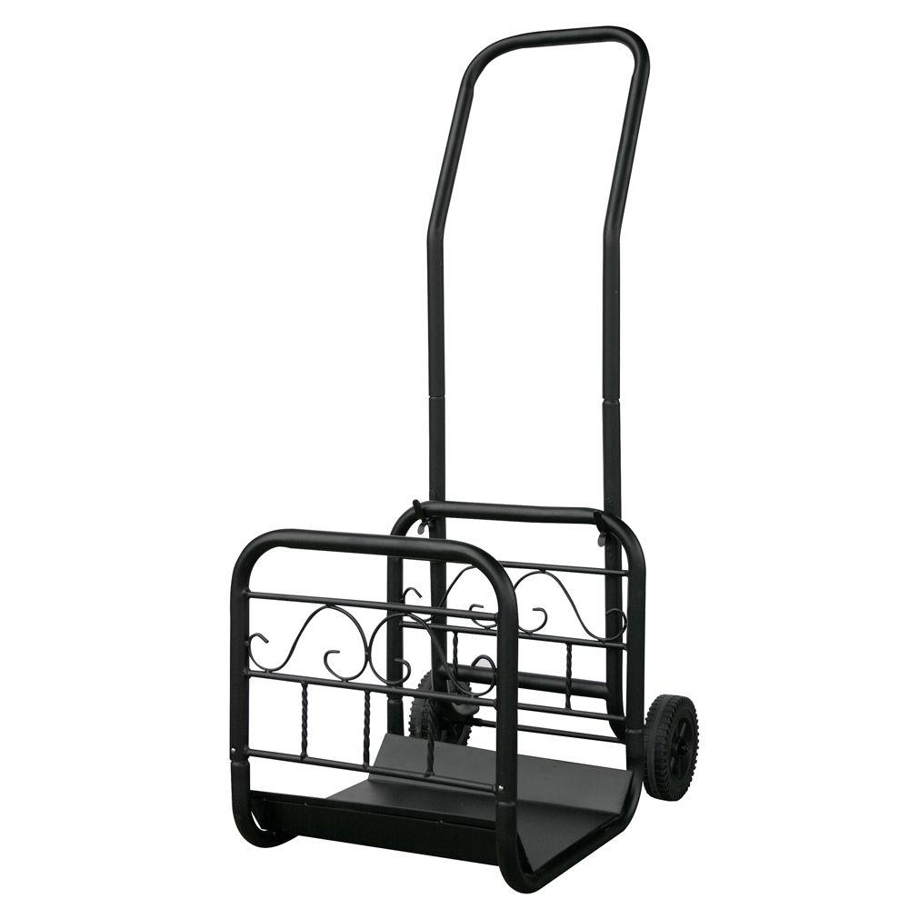 UniFlame Firewood Cart-W-1058 - The Home Depot