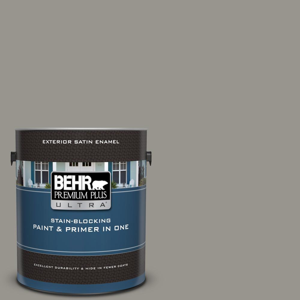 Behr Premium Plus Ultra 1 Gal N360 4 Battleship Gray