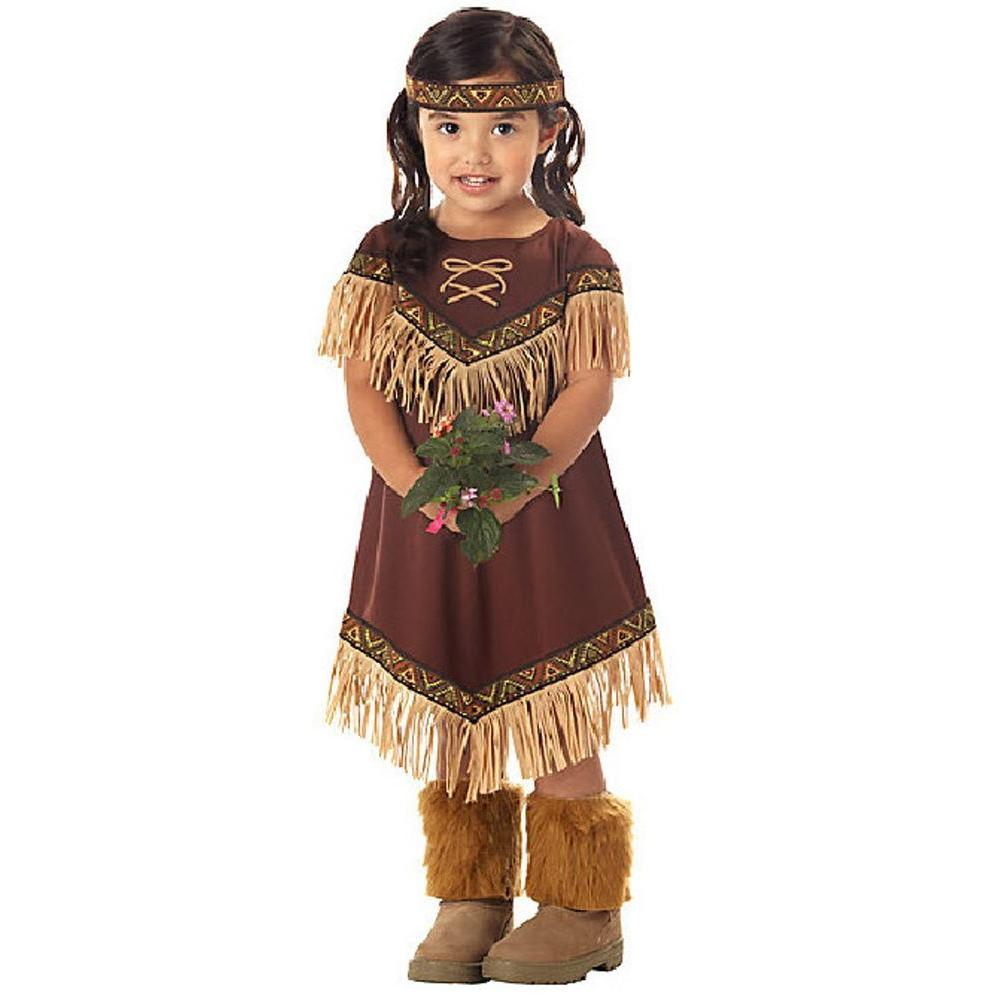 Medium Toddler Lil Indian Princess Costume
