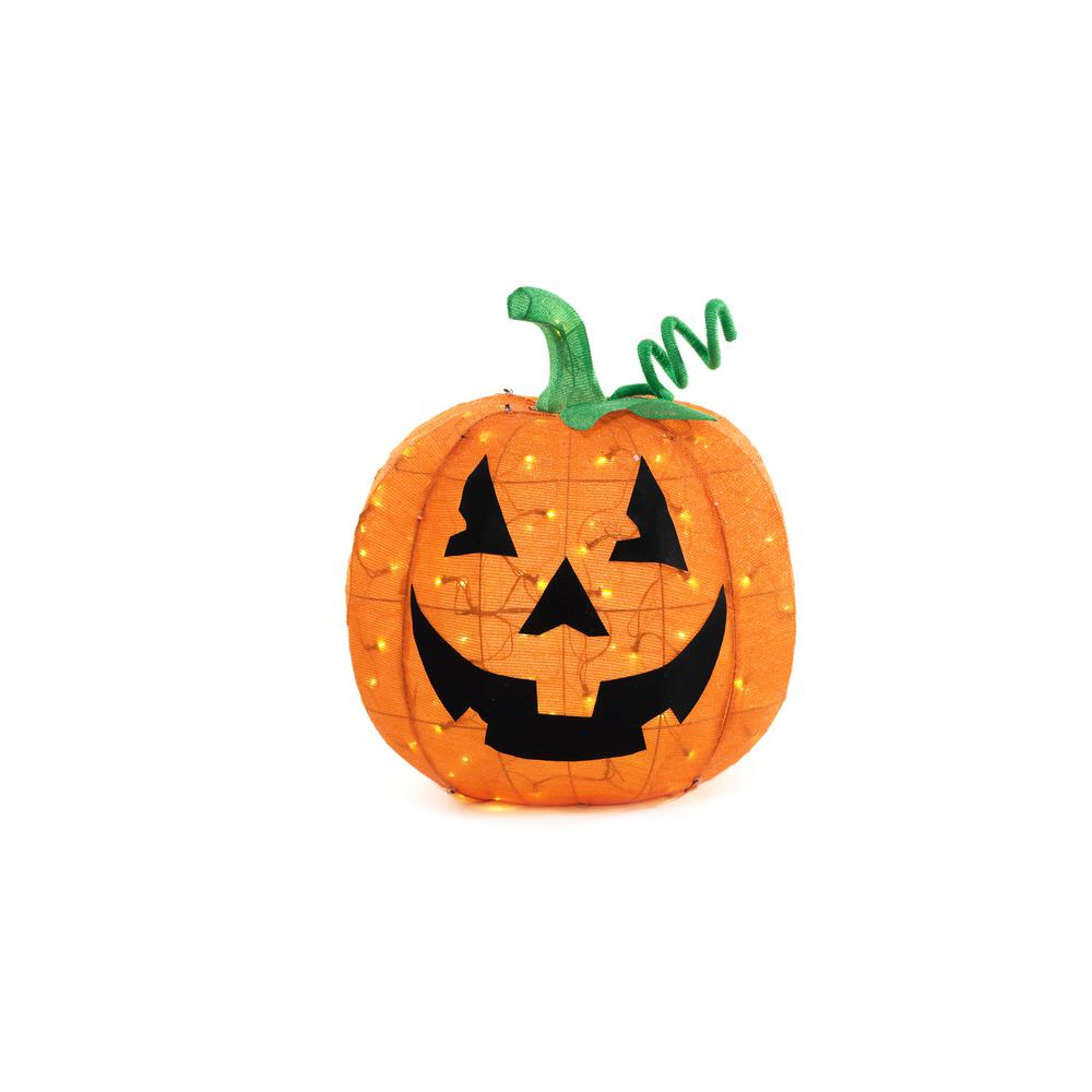 32 in. Big Tinsel Pumpkin