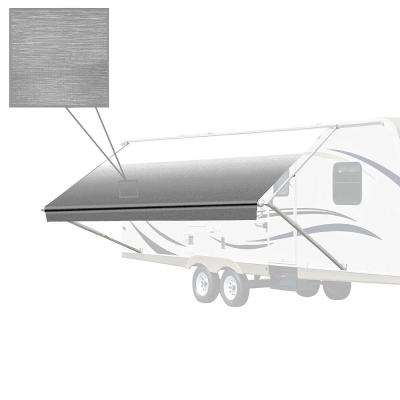 10 ft. RV Retractable Awning (96 in. Projection) in Grey