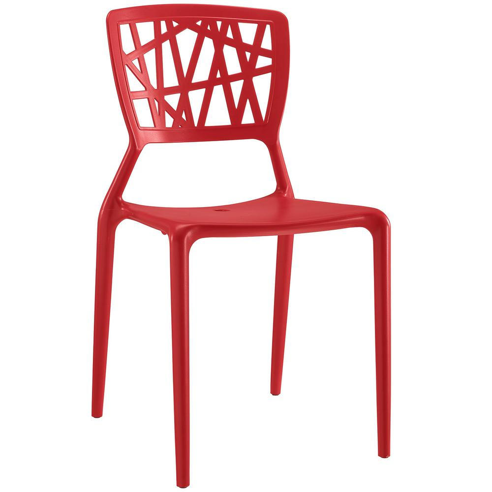 Astro Red Dining Side Chair