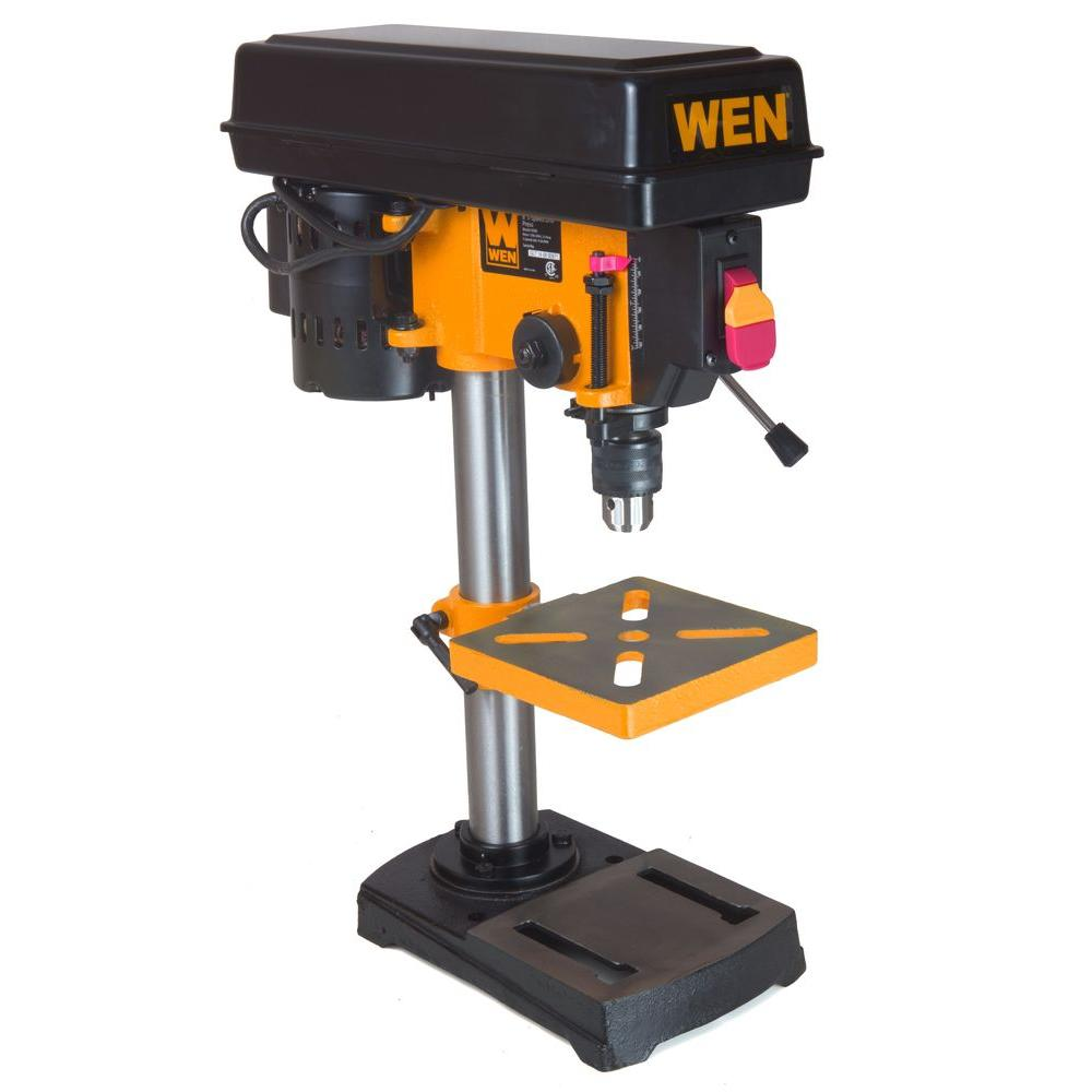 Wen 8 In 5 Speed Drill Press 4208 The Home Depot