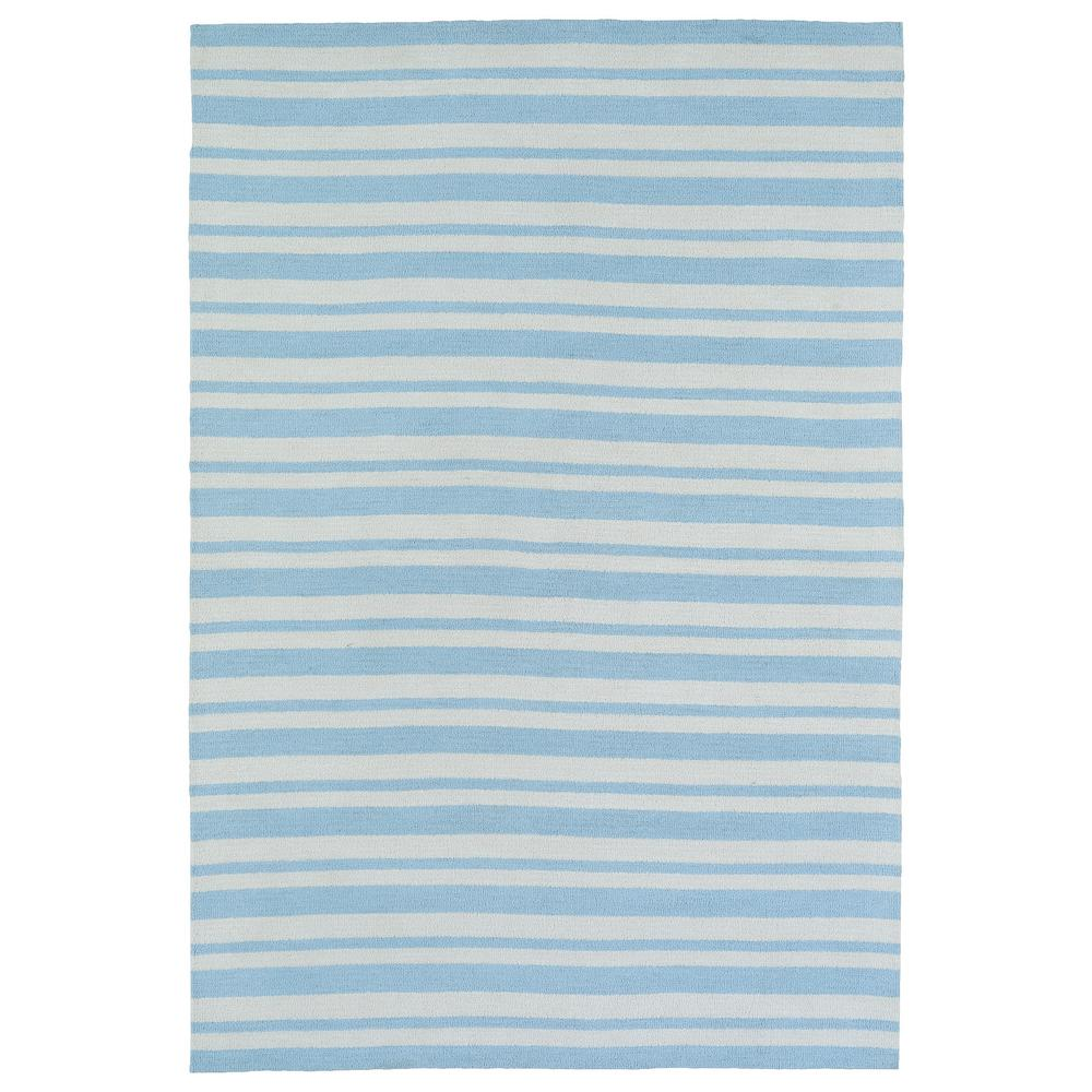 Lily and Liam Blue 5 ft. x 7 ft. Area Rug