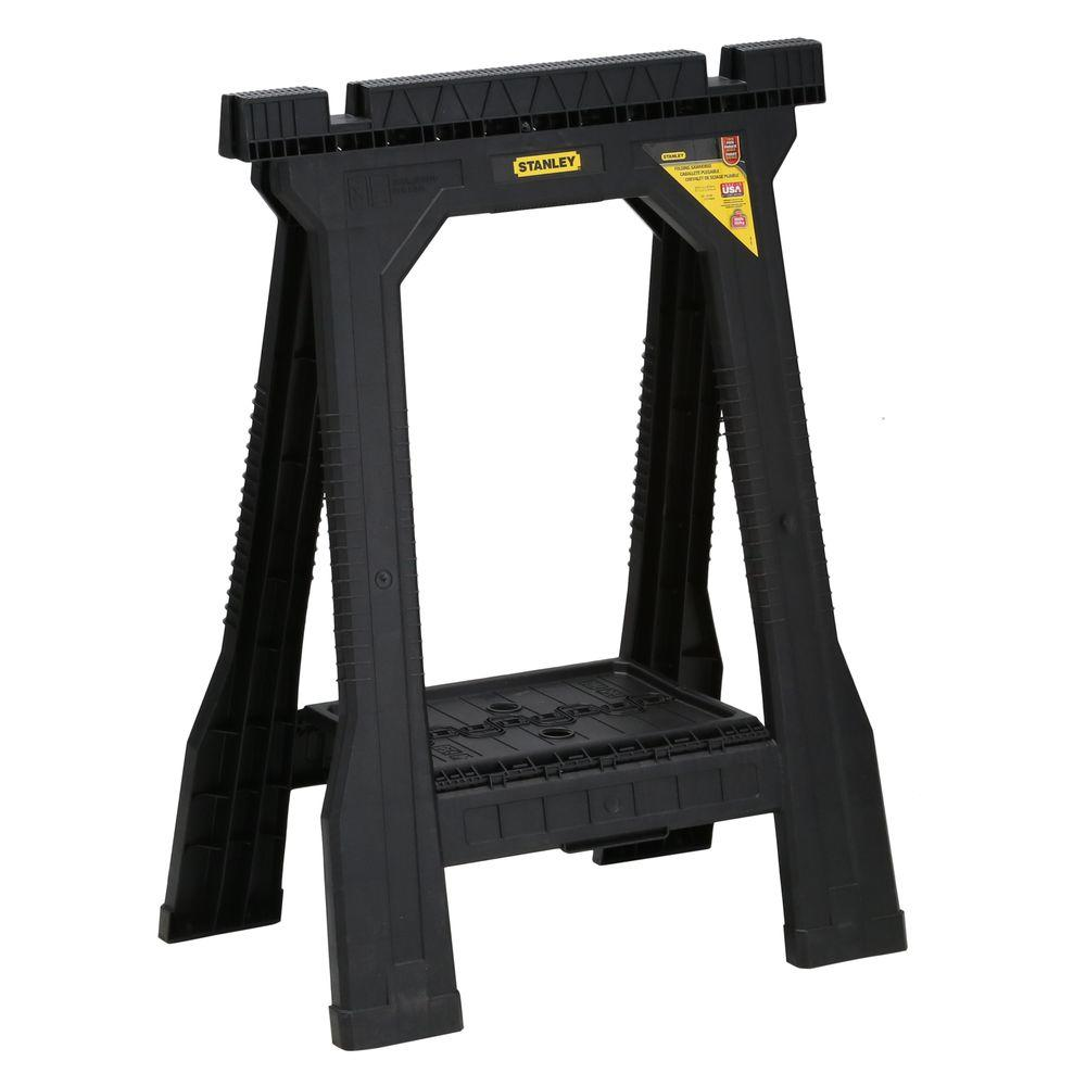 Stanley 22 in. Folding Sawhorse (2-Pack)