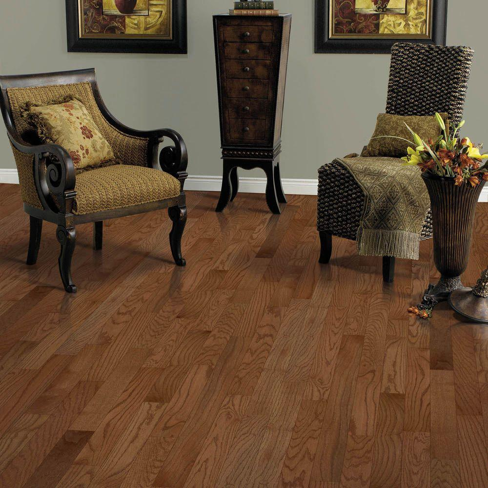 Mohawk Oak Winchester 3 8 In Thick X 1 4 Wide Random Length Click Hardwood Flooring 23 5 Sq Ft