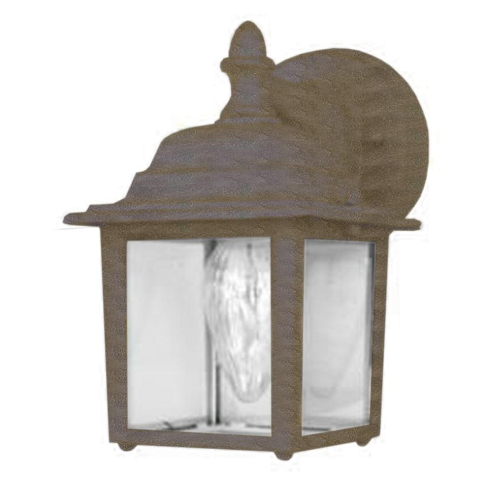 Beveridge 1-Light Oil Rubbed Bronze Outdoor Wall Lantern