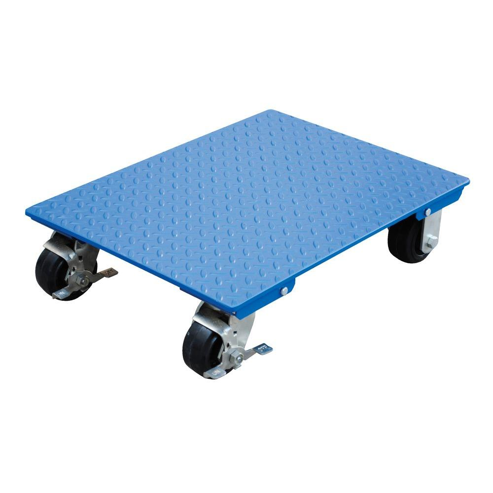 Vestil 18 In X 24 In 1 200 Lb Steel Plate Dolly Vpldo S 1824