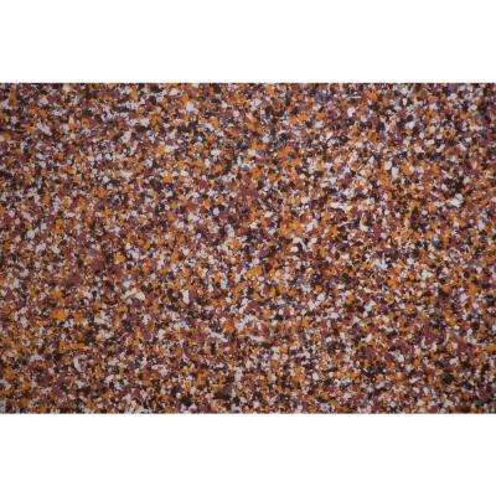 5 lbs. Orange, Black and Rust Tiramisu Vinyl Decorative Color Chips