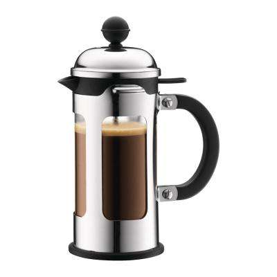 Chambord 3-Cup Stainless Steel French Press Coffee Maker