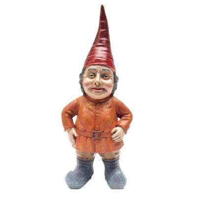 20 in. Lotie the Gnome Woman with Short Hair Statue