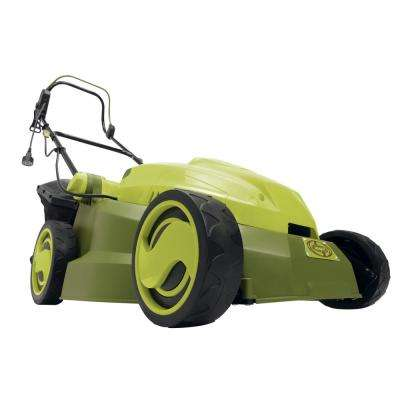 15 in. 12 Amp Corded Electric Walk Behind Push Mower with Mulcher Re-Manufactured