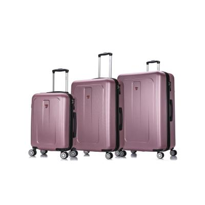 Crypto 20 in./28 in./32 in. Rose Gold Lightweight Hardside Set (3-Piece)