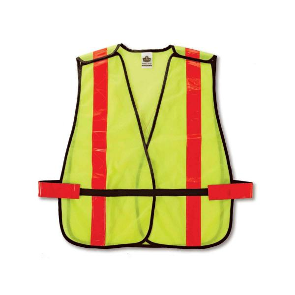 GLoWEAR Lime Hi-Vis Non-Certified X-Back Vest