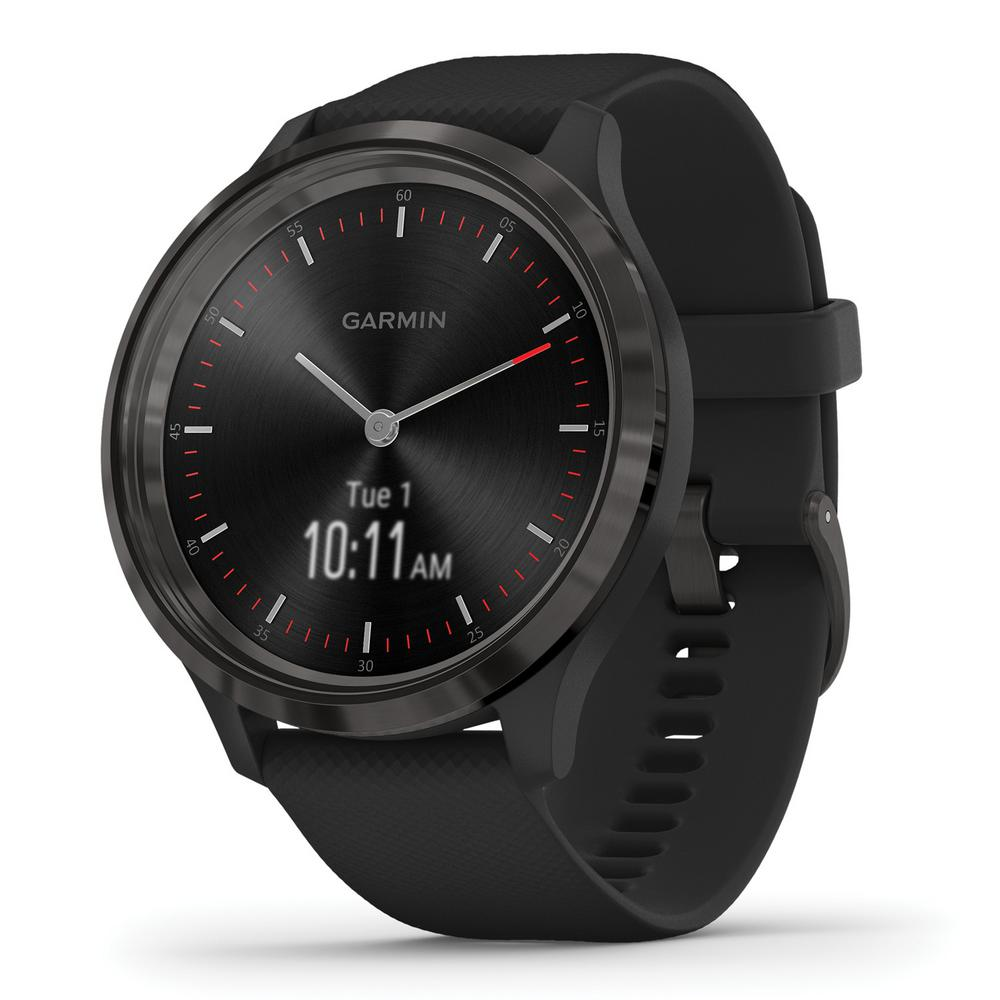 Garmin vivomove 3 Hybrid Smart Watch in Slate Stainless Steel ...