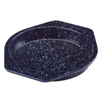 9 in. Deep Sea Blue Speckle Nonstick Speckled Bakeware Round Cake Pan