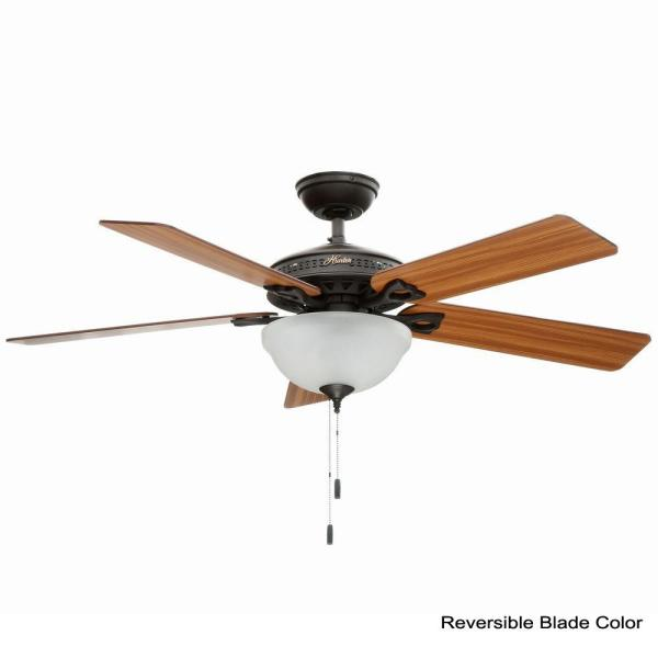 New Bronze Ceiling Fan With Light Kit