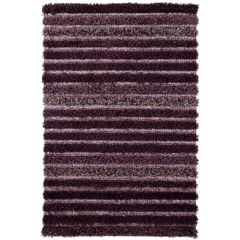 Lavasa Purple/Grey 7 ft. 9 in. x 10 ft. 6 in.